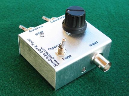 Qrp antenna tuner homebrew