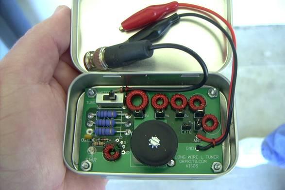 Altoids Long Wire Tuner Pacific Antenna. Altoids Longwire Antenna Tuner. Wiring. Long Wire Antenna Tuner Schematic At Scoala.co